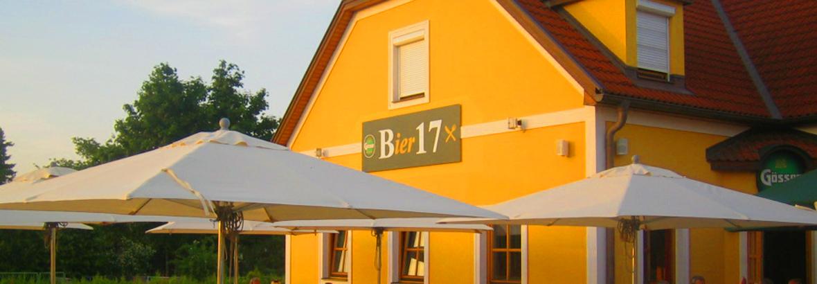 Willkommen im Bier17!